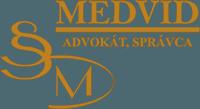 JUDr. Michael Medviď Logo